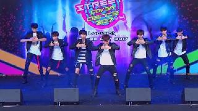 170528 BOABAH cover MONSTA X - HERO @ JK Street Cover Dance 2017 (Au)