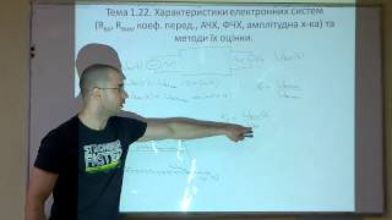Тема 1.22.4. Характеристики електронних систем. АЧХ і ФЧХ.