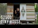 Beautiful Rustic Tiny House with Geodesic Dome Window