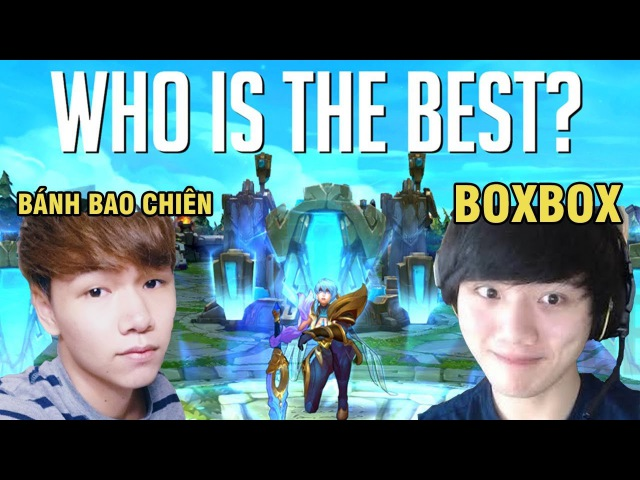BoxBox VS Bánh Bao Chiên - Who is the best Riven? - Riven Montage ( League of Legends / LOLPlayVN )