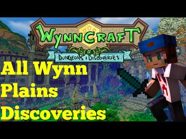 All Wynn Plains Discoveries | Wynncraft Dungeons and Discoveries Update |