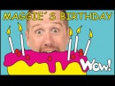 Maggie's Birthday Story for Kids NEW from Steve and Maggie | Stories for Kids by Wow English TV