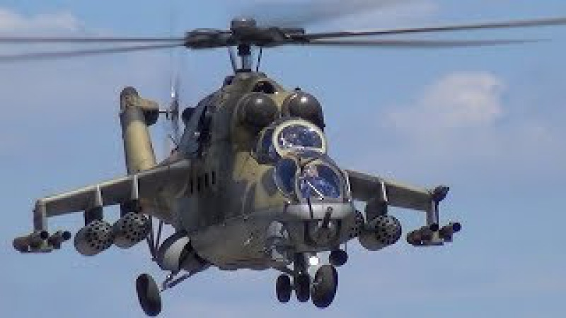 Swiss Helichallenge 2017 Mil MI-24 HIND Attack RC Scale Model Helicopter летающий танк