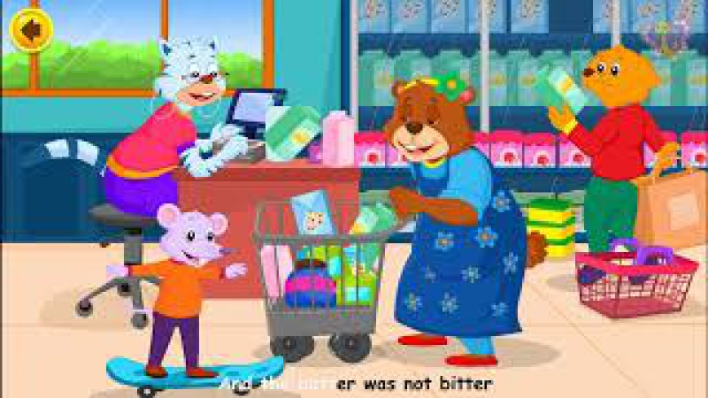 Betty Botter Bought Some Butter | Nursery Rhymes with Lyrics | Original Kids Songs from Bo