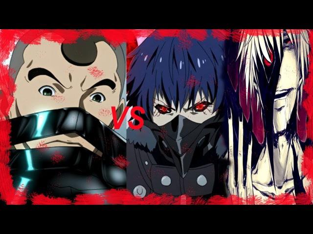 Аято и Канеки против Шинохары(AMV)Ayato and Kaneki vs Shinohara
