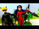 Леди БАГ и Супер Кот. Играем в КУКЛЫ! Видео, как ЛедиБаг борется с ДРАКОНОМ 🐉