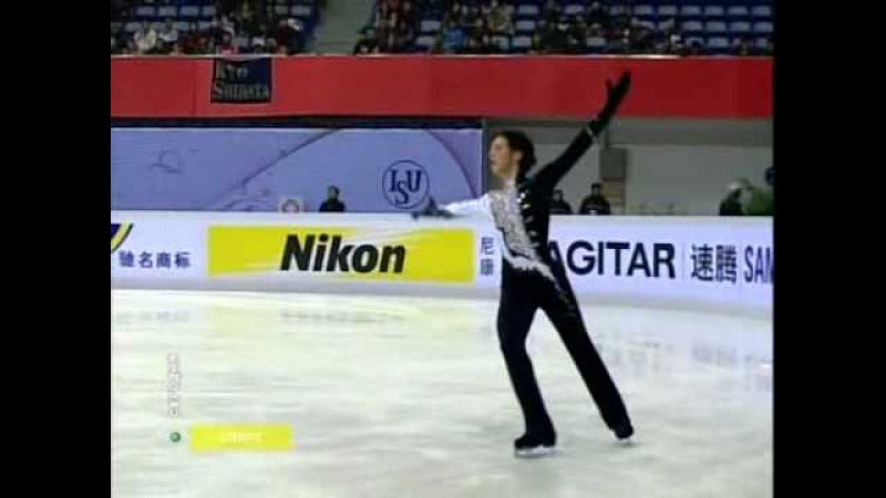 Cup of China 2007 Johnny Weir SP - Yunona and Avos