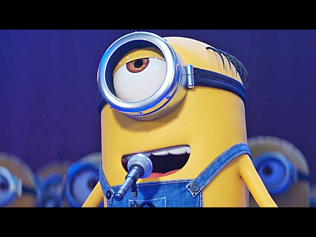 Minions Sing! Despicable Me 3 | official FIRST LOOK clip trailer (2017)