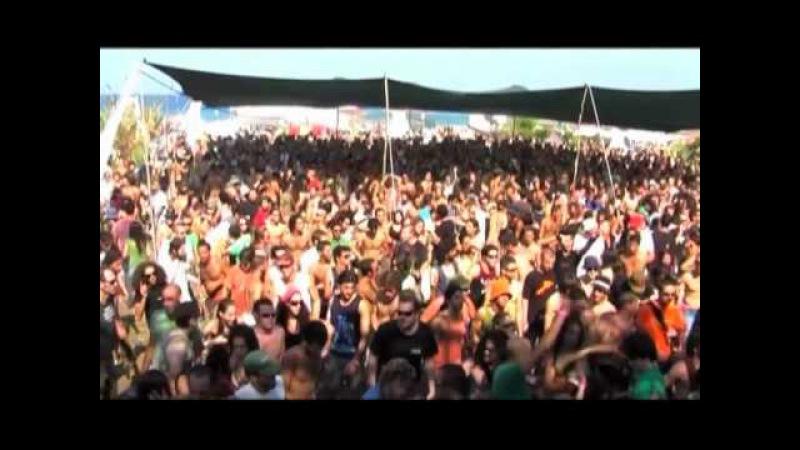 Hallucinogen Live @ Moksha Project - Sunset To Sunset Fest. 2007 - Ahziv Beach
