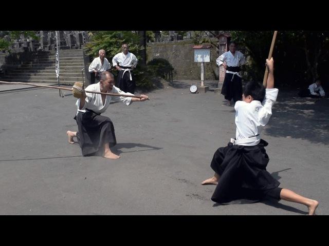 Koryu-Jigen-ryu 薬丸自顕流の保存会が合同稽古