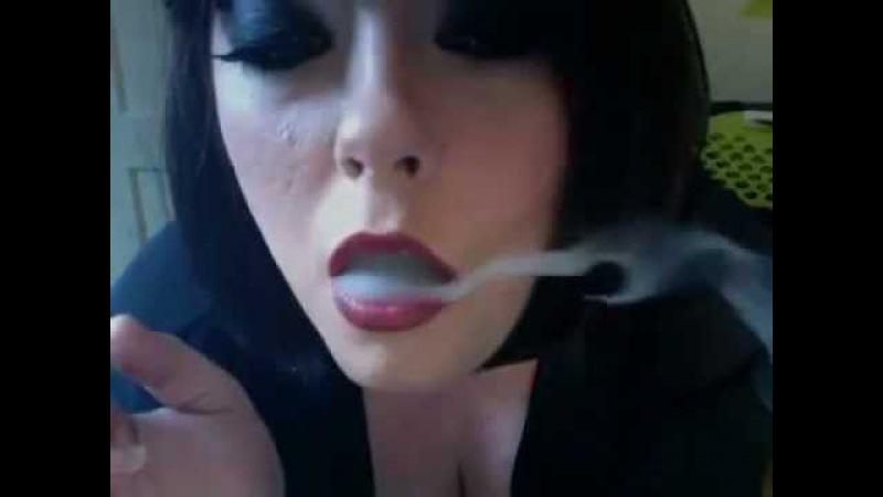 Mistress Tina chain smoking filtered superking cigarettes - Smoking Fetish Queen