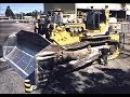 Komatsu D575A самый большой гусеничный трактор в мире
