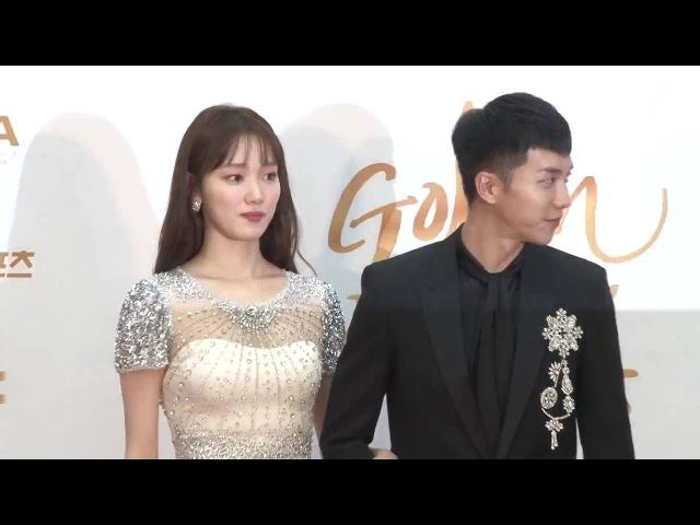 4  180110 Lee Sung Kyung Lee Seung Gi - Golden Disc Awards MCs @보따리 bottari