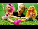 Мишель в Школе Гимнастики Барби. Видео для девочек с куклами