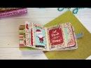 DT ScrapPodruzhka - быстрый новогодний мини альбом - обзор - Simple Stories - Oh What Fun!