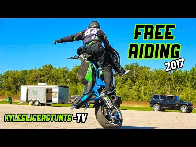 FREE RIDING stunt style RAW video KYLE SLIGER
