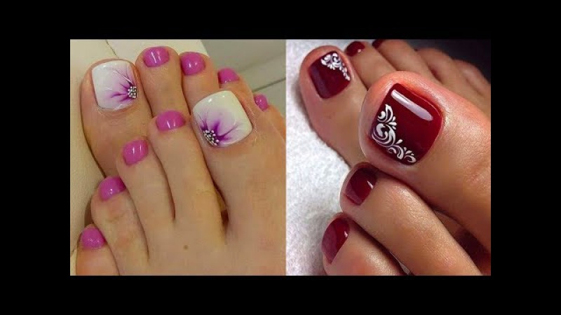 TOP 48 TOE NAIL ART DESIGNS COMPILATION YOU NEED TO TRY 2018