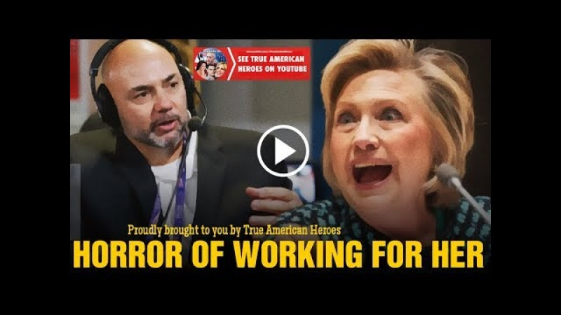 Secret Service Agent Tells All - FULL Interview About Hillary Clinton's Compulsive Psychotic Anger