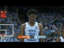 Miami vs North Carolina Basketball 2018 Feb. 27