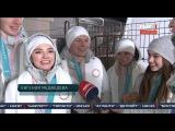 Интервью наших фигуристов. Евгения Медведева и Алина Загитова. СЕРЕБРО ОЛИМПИЙСК ...