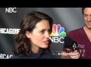 Nick Gehlfuss Torrey DeVitto Have Fun With Nekia Nichelle On The OneChicagoDay Red Carpet