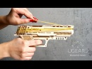 Ugears Wolf 01 Handgun mechanical model kit for self assembly then play
