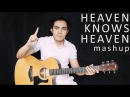 Heaven Knows Heaven Rick Price Bryan Adams fingerstyle guitar mashup cover free tab