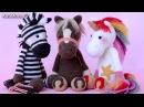Амигуруми: схема Лошадки и Единорога. Игрушки вязанные крючком. Free crochet patterns.