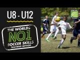 Метод Coerver футбольные тренировки детей U8 12 лет часть 6