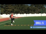 Football coaching video - soccer drill - ladder coordination (Brazil) 5
