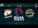 VP vs Sacred RU #1 (bo3) Summit 8 Qualifier Minor 13.12.2017