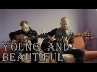 Lana Del Rey - Young and Beautiful (acoustic guitar cover, tabs)
