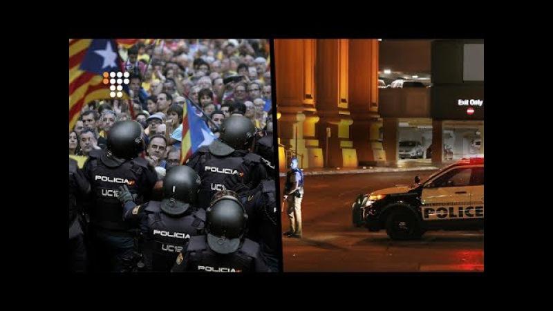 Каталонія прагне незалежності, Британія заплуталася, Лас-Вегас у крові