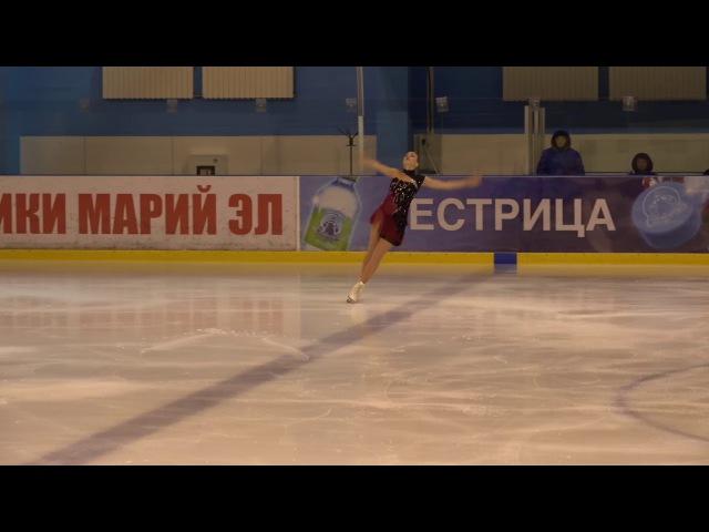 Евгения Иванькова, Кубок России Ростелеком 2017 2018, 2, MC КП