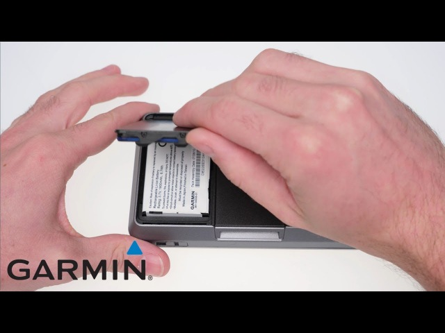 Support: Accessing the battery compartment on a zūmo 660/665