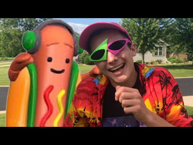 Gettin lit with the snapchat hot dog