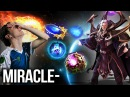 Miracle- Top 1 Invoker Still Not Enough to Carry 9k MMR Gameplay - Dota 2