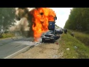 Заживо сгорел человек Самая Жестокая Авария в 2014 году