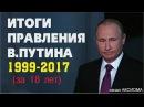 Итоги правления Путина - Это должен знать каждый. Итоги недели [12/11/2017]
