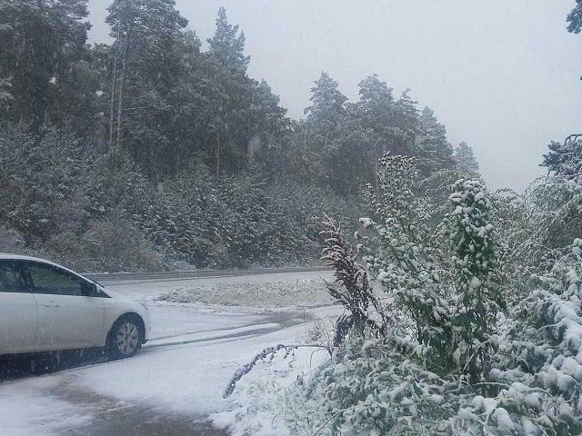 ВБашкирии выпал 1-ый снег