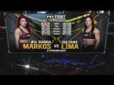 FIGHT NIGHT CHARLOTTE Randa Markos vs. Juliana Lima