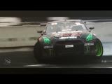 Drift Vine   Nissan GTR Daigo Saito at FIA Intercontinental Drifting Cup