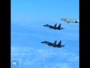 Учения авиации НОАК