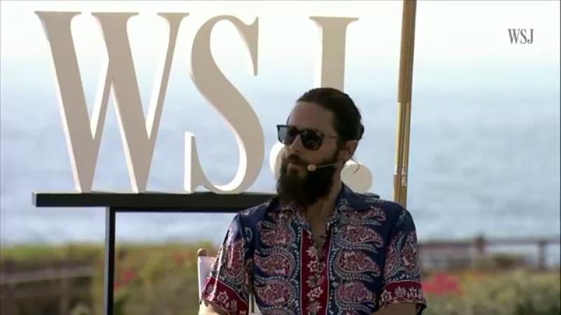 Jared Leto conference WSJ 18 10 17