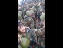 Сбор бригад морпехов Сирийской Аарабской армии перед началом операции освобождения на фронте Восточной Гуты
