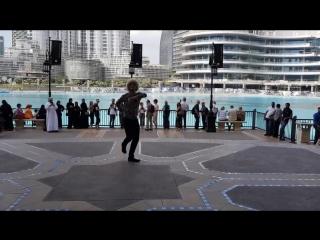 Флешмоб от чеченца в Дубае