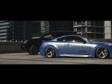 Infiniti G37 Liberty Walk Vossen X Work Wheels VWS-3-BEST-MOTORS