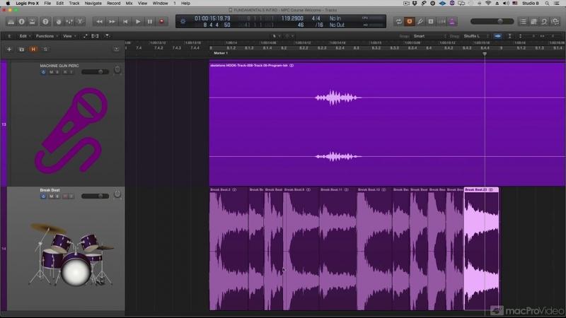 MacProVideo - Logic Pro FastTrack 201 Advanced Audio Editing Tips
