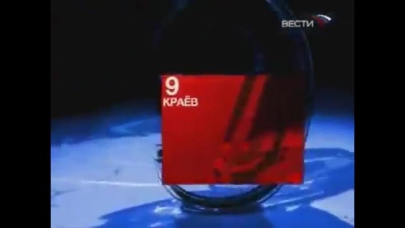 Начальная и конечная заставка программы Федерация (Вести, 2007-2009)