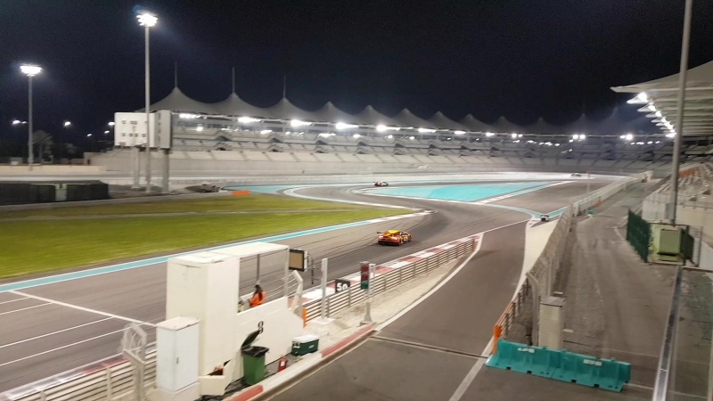 Гонка на Хураканах - Абу Даби 2018